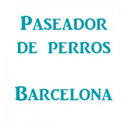 Paseador de perros Barcelona