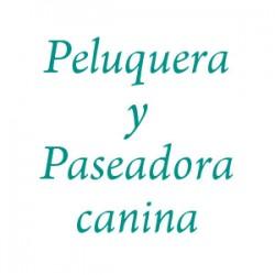 Peluquera y Paseadora canina (Vanesa)