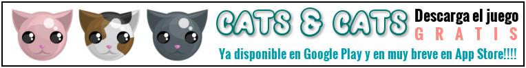 Cats and Cats - Videojuego gratuito de tipo puzzle para 1 jugador.