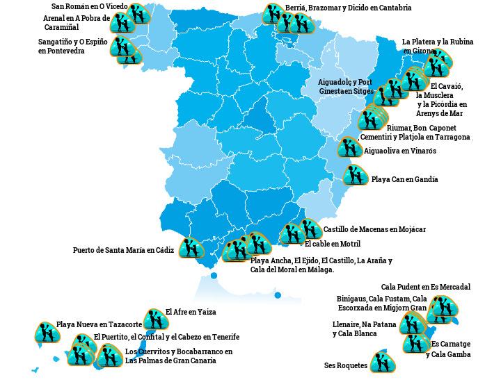 playas de espana que admiten mascotas